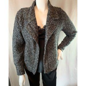 Harley-Davidson Black/Gray Zip Sweater XL